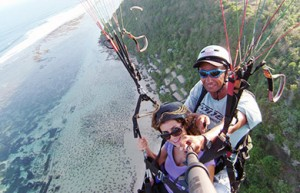 Paragliden op Bali