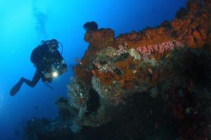Bali schipwrak duiken